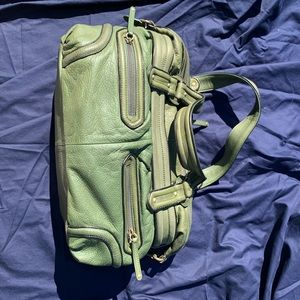 Cole Haan Purse Green leather